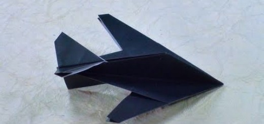 Paperilennokki F-117 Nighthawk Stealth Fighter